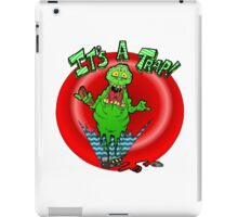 Slimer it's a trap iPad Case/Skin
