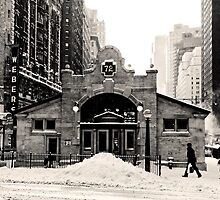 Old West 72 St Subway Station by Curley