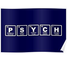 Psych - Periodic Table Poster