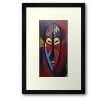 Masked Or Beyond? Framed Print