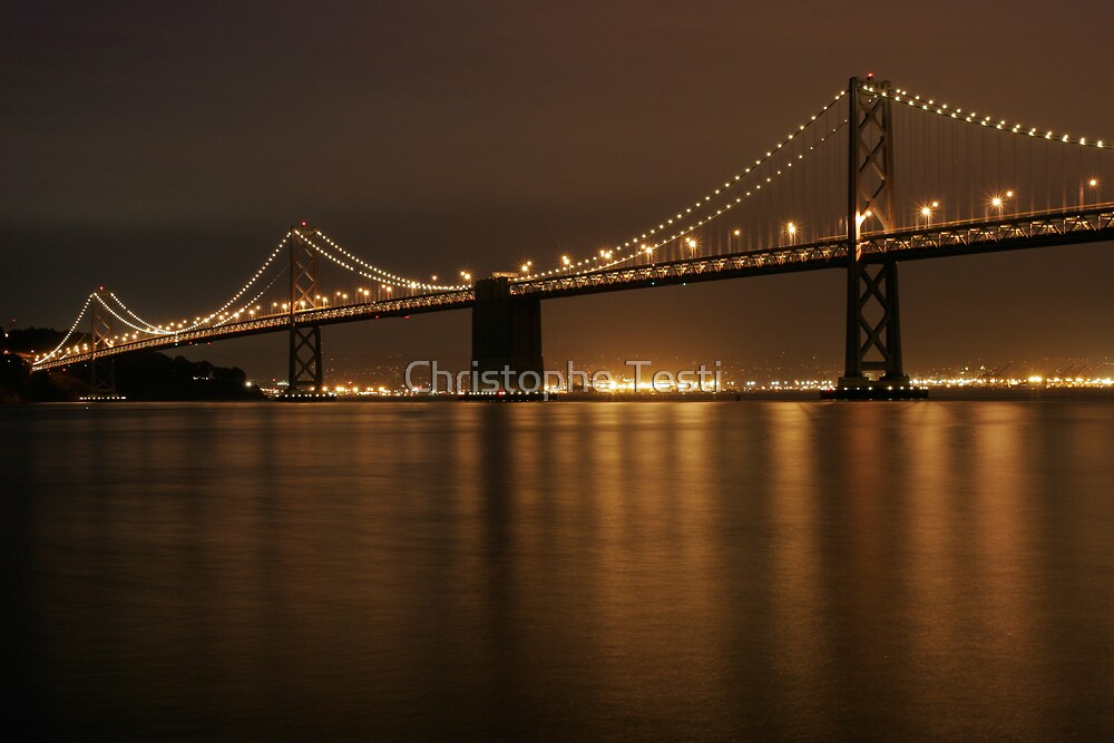 Bay Bridge by Christophe Testi