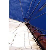 Sunet Sail Photographic Print