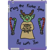 May the Festive Spirit be with You iPad Case/Skin