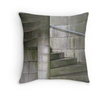 Fortress Staircase Throw Pillow