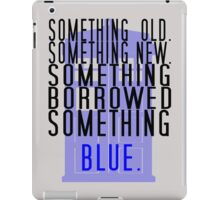 Doctor Who - TARDIS Rhyme  iPad Case/Skin