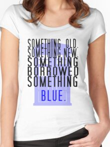 Doctor Who - TARDIS Rhyme  Women's Fitted Scoop T-Shirt