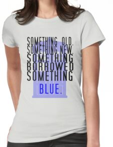 Doctor Who - TARDIS Rhyme  Womens Fitted T-Shirt