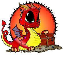 Baby Dragons Treasure by Skree