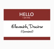 Eleventh Doctor Name Tag by Kristina Moy