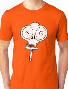 THE MONKEY SKULL LOLLY Unisex T-Shirt