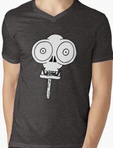 THE MONKEY SKULL LOLLY Mens V-Neck T-Shirt