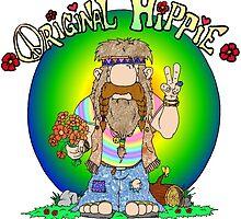 The Original Hippie by Skree