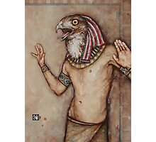 Angry Horus, Screaming Photographic Print