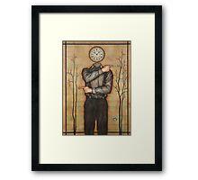 Chronological Man Framed Print