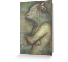 The Minotaur Greeting Card