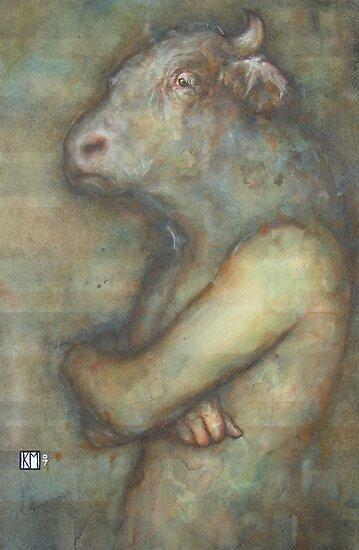 The Minotaur by Keelan McMorrow