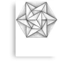 Paper Star 2 Canvas Print