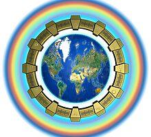 Earth Ascension Stargate by Martin Rosenberger