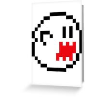 8bit Boo - Standard Greeting Card