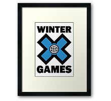 Winter X Games Framed Print