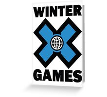 Winter X Games Greeting Card