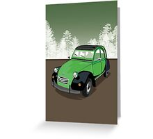 2CV Greeting Card