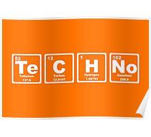 Techno - Periodic Table Poster