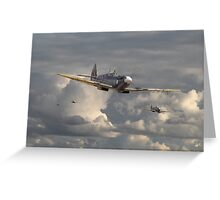 Spitfire - Strike Force Greeting Card