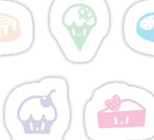 Dessert Delight Sticker
