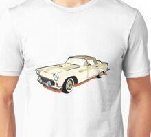 Mrs Peel Car Unisex T-Shirt
