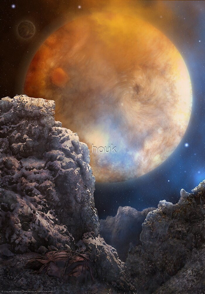 Spacerock IV - Lonely Planet by houk