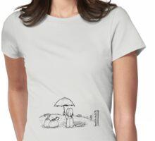 Rain? Womens Fitted T-Shirt