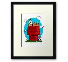 Duck Hunt\Snoopy Framed Print