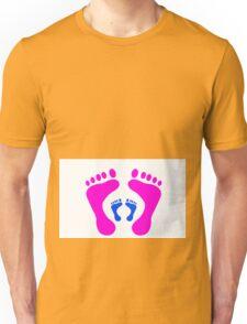 footprints Unisex T-Shirt
