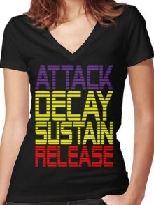 ADSR 1 Women's Fitted V-Neck T-Shirt