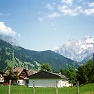 Kandersteg Mountains by georgiegirl