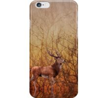 Stag deer iPhone Case/Skin