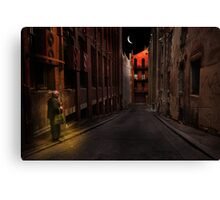 A life on the street Canvas Print