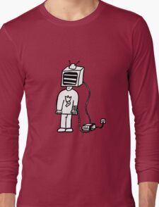 Wired In Retro Gamer Long Sleeve T-Shirt