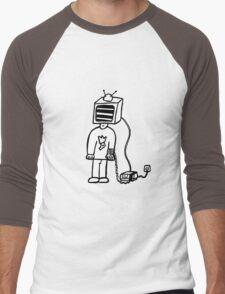 Wired In Retro Gamer Men's Baseball ¾ T-Shirt