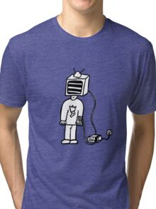 Wired In Retro Gamer Tri-blend T-Shirt