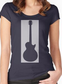 Guitar Lover Women's Fitted Scoop T-Shirt