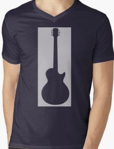 Guitar Lover Mens V-Neck T-Shirt