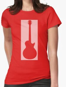 Guitar Lover Womens Fitted T-Shirt