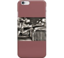 Mack  B model in Black and White iPhone Case/Skin