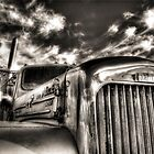 Mack  B model in Black and White by pdsfotoart
