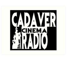 Cadaver Cinema Logo Art Print