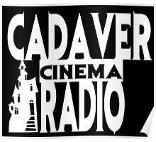 Cadaver Cinema Logo Poster