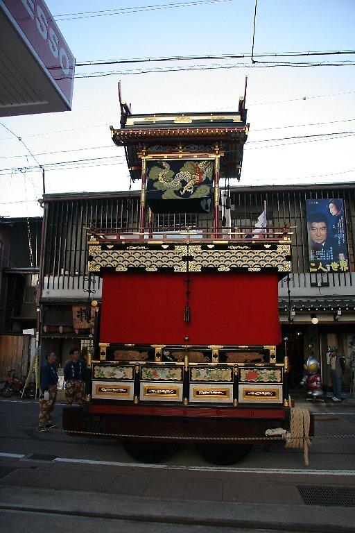 Yatai - Takayama Autumn Festival - Hachiman Festival  by Trishy