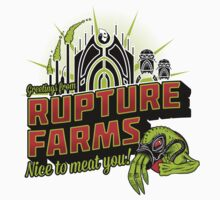 Greetings From Rupture Farms Baby Tee